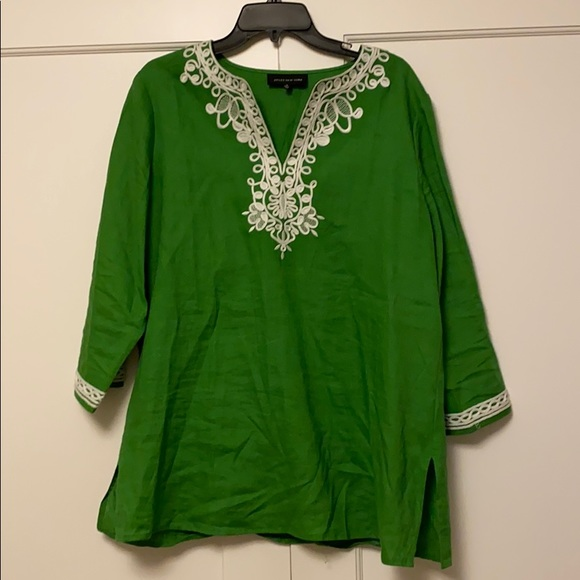 Jones New York 3/4 length sleeve tunic